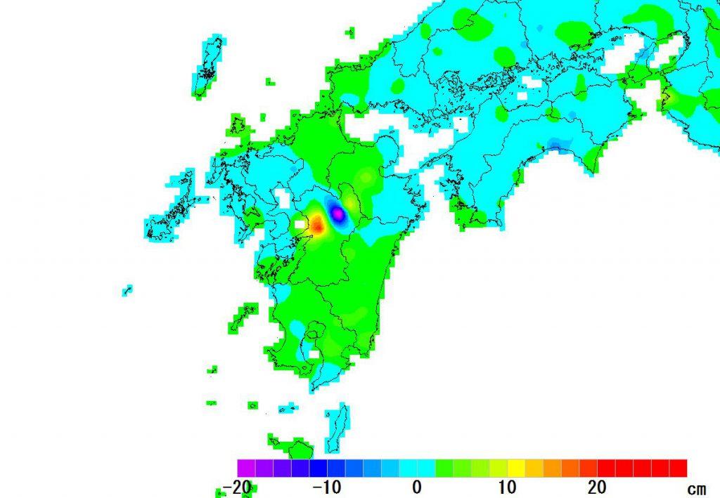 九州-変動量(高さ)_2017