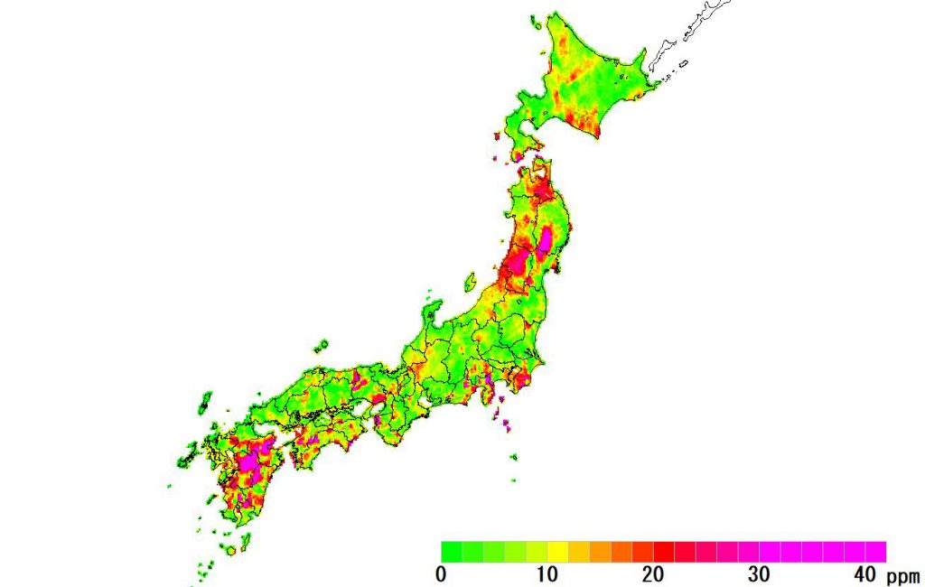 日本全国(沖縄除く)-角度_2018
