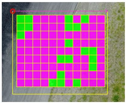 平面の密度確認に対応