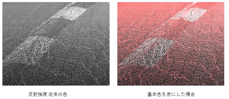 法線と反射強度の表現色の追加