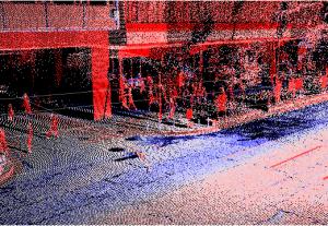 反射強度青白赤