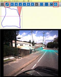 MMS点群と写真の重畳