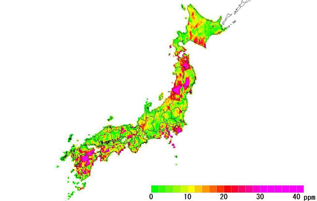 日本全国(沖縄除く)-角度_2021
